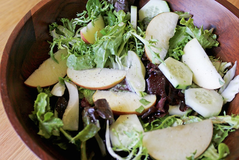 Super Greens & Mint Salad (Recipe)